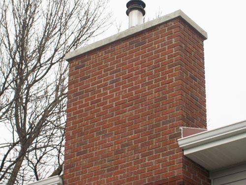 New Chimney Masonry