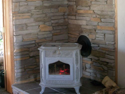 Fireplace Interior Stone Work Masonry