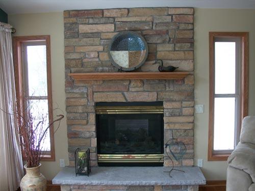 Fireplace Block Work