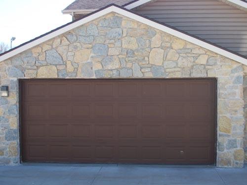 Garage Stone Exterior Masonry