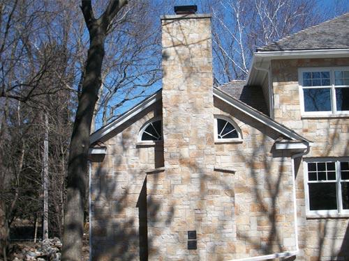 Residential Exterior Stone Masonry
