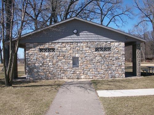 Public Park Stone Exterior Building